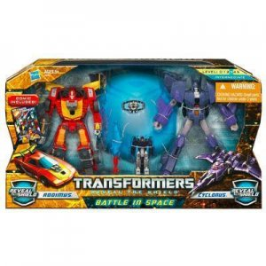 TRANSFORMERS Battle In Space RODIMUS CYCLONUS Reveal The Shield misb