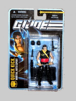 G.I.JOE 2010 QUICK KICK TRU new/sealed