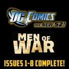 Men of War#1-8 The New 52 DC Comics All 1st Prints 2011 VF/NM New 52