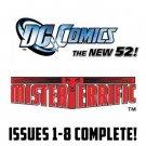 mister terrific #1-8 The New 52 DC Comics All 1st Prints 2011 VF/NM New 52