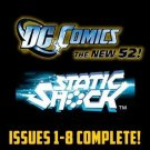 Static Shock #1-8 The New 52 DC Comics All 1st Prints 2011 VF/NM New 52