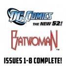 Batwoman #1-8 The New 52 DC Comics All 1st Prints 2011 VF/NM New 52