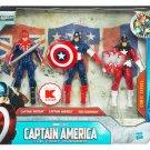 Captain America 3.75 The International Patriots BRITAIN RED GUARDIAN & AMERICA