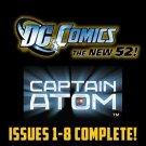 captain atom #1-8 The New 52 DC Comics All 1st Prints 2011 VF/NM New 52