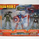 IRON MAN 2 ADVANCED TACTICAL ARMOR Exclusive 3 Pack MIB