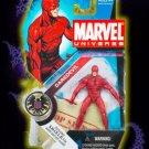 Marvel Universe Daredevil series 1 #8 moc rare