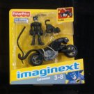 Fisher Price Batman Imaginext Catwoman & Bike DC Super Friends VHTF NEW!!!