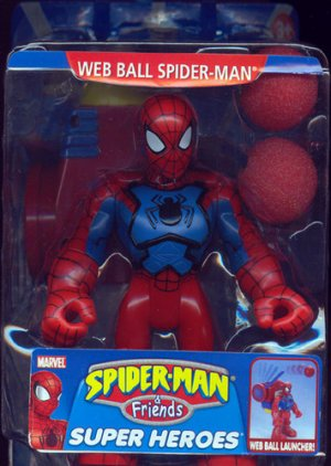 Spider-man and Friends web ball spider-man moc