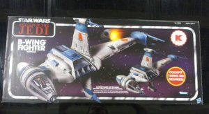 Star Wars Vintage 2011 Kmart Exclusive B-WING FIGHTER misb