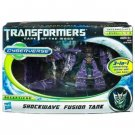 TRANSFORMERS DARK OF THE MOON SHOCKWAVE FUSION TANK CYBERVERSE