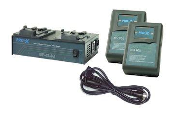 Switronix SX-BK2S - 1 GP-2LSJ, 2 XP-L90S V-Mount