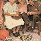 THANKSGIVING ~ NORMAN ROCKWELL PRINT # 36 NEAR MINT