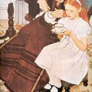 THE HANDKERCHIEFS ~ NORMAN ROCKWELL PRINT # 33 NEAR MINT