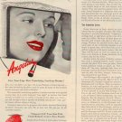 1944 THE HOUSE OF LOUIS PHILIPPE ANGELUS LIPSTICK MAGAZINE AD (79)