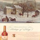 1944 PHILADELPHIA BLENDED WHISKEY MAGAZINE AD  (91)