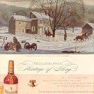 1944 PHILADELPHIA BLENDED WHISKEY MAGAZINE AD  (91)