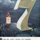 1949 SEAGRAM'S 7 SEVEN CROWN WHISKEY MAGAZINE AD  (118)