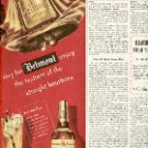 1949 BELMONT STRAIGHT BOURBON WHISKEY MAGAZINE AD  (130)