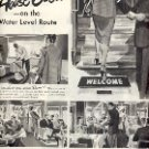 1949 NEW YORK CENTRAL PULLMAN TRAINS  MAGAZINE AD  (117)