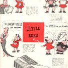 1949 LITTLE LULU AND KLEENEX TISSUES  MAGAZINE AD  (123)