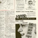 1949 MOLLE HEAVIER BRUSHLESS CREAM & GEM BLADE RAZOR/SHAVER MAGAZINE AD  (132)