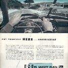 1952 LIBBEY OWENS FORD E-Z-EYE SAFETY PLATE GLASS WINDSHIELDS MAGAZINE AD  (148)