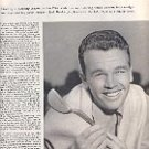 1952 GOLFs NEW HOT-SHOT  PGA  JACK BURKE JR HEADS FOR THE U.S. OPEN MAJOR THREAT MAGAZINE AD (150)