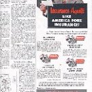 1952 AMERICA FORE INSURANCE GROUP CONTINENTAL  FIDELITY-PHEONIX  NIAGARA  AMERICAN EAGLE  AD  (158)