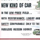 1953 HUDSON JET - HUDSON UNVEILS A NEW KIND OF CAR DOUBLE PAGE MAGAZINE CAR AD  (162)