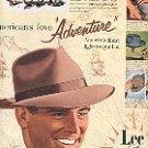1953 LEE HATS AMERICANs LOVE ADVENTURE MAGAZINE AD  (164)