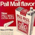 1971 PALL MALL CIGARETTES MAGAZINE AD  (39)