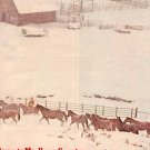 1972 MARLBORO COUNTRY WITH SNOW & HORSES  MAGAZINE AD  (11)