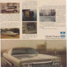 1972 CHRYSLER NEWPORT CAR MAGAZINE AD  (50)