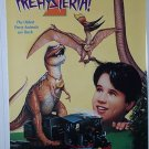 PREHYSTERIA 2 w/ KEVIN CONNORS & JENNIFER HARTE 1994 ONE SHEET MOVIE VIDEO POSTER # 58 NEAR MINT
