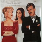 THAT OLD FEELING with BETTE MIDLER & DENNIS FARIA 1997 ONE SHEET MOVIE VIDEO POSTER # 62 VGOOD COND