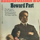 THE IMMIGRANTS by HOWARD FAST 1982 PAPERBACK BOOK GOOD TO VERY GOOD CONDITION