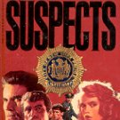 SUSPECTS by WILLIAM J. CAUNITZ 1988 PAPERBACK BOOK VERY GOOD CONDITION