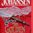 THE GOLDEN BARBARIAN by IRIS JOHANSEN 1992  PAPERBACK BOOK NEAR MINT