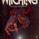 THE WITCHING by FRITZEN RAVENSWOOD 1985  PAPERBACK BOOK