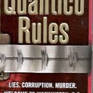QUANTICO RULES by GENE RIEHL 2004  PAPERBACK BOOK