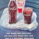 1960 COKE COCA-COLA  AD  MAGAZINE AD  (35)