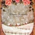 ALMOST HEAVEN COUNTRY EDITION  BOOK 1  WOOD & PAINTING PROJECTS by ELAINE THOMPSON 1983 CRAFT BOOK
