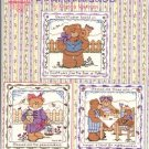 BEARATITUDES BLESSED BABY BEAR CROSS STITCH BOOKLET DESIGNS BY GLORIA & PAT CRAFT BOOK NEW