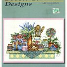 BOBBIE G.DESIGNS A DELIGHTFUL SHELF COUNTED CROSS STITCH LEAFLET by BARBARA SMITH CRAFT BOOK NOS NEW