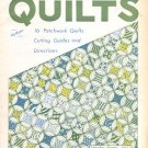 BOLD AND BEAUTIFUL QUILTS PAMPHLET 16 PATCHWORK QUILTS CUTTING GUIDES & DIRECTIONS CRAFT BOOK