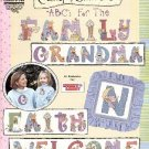 CAMP GRANDMA  ABC'S FOR THE FAMILY CROSS STITCH DESIGNS BY GLORIA & PAT BOOKLET 2005 CRAFT BOOK NEW