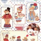 CHERISHED TEDDIES CIRCUS ON PARADE GLORIA & PAT CROSS STITCH  by PRISCILLA HILLMAN CRAFT BOOK NEW