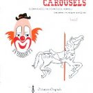 CLOWNS AND CAROUSELS CROSS STITCH BOOKLET TIDEWATER ORIGINALS 1979 CRAFT BOOK MINT