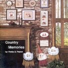 COUNTRY MEMORIES CROSS STITCH BOOKLET by FREIDA G. PEARCE CRAFT BOOK MINT