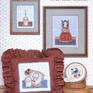 COUNTRY PRIMITIVES 2 CROSS STITCH BOOKLET by PAT PEARSON 1984 CRAFT BOOK MINT
